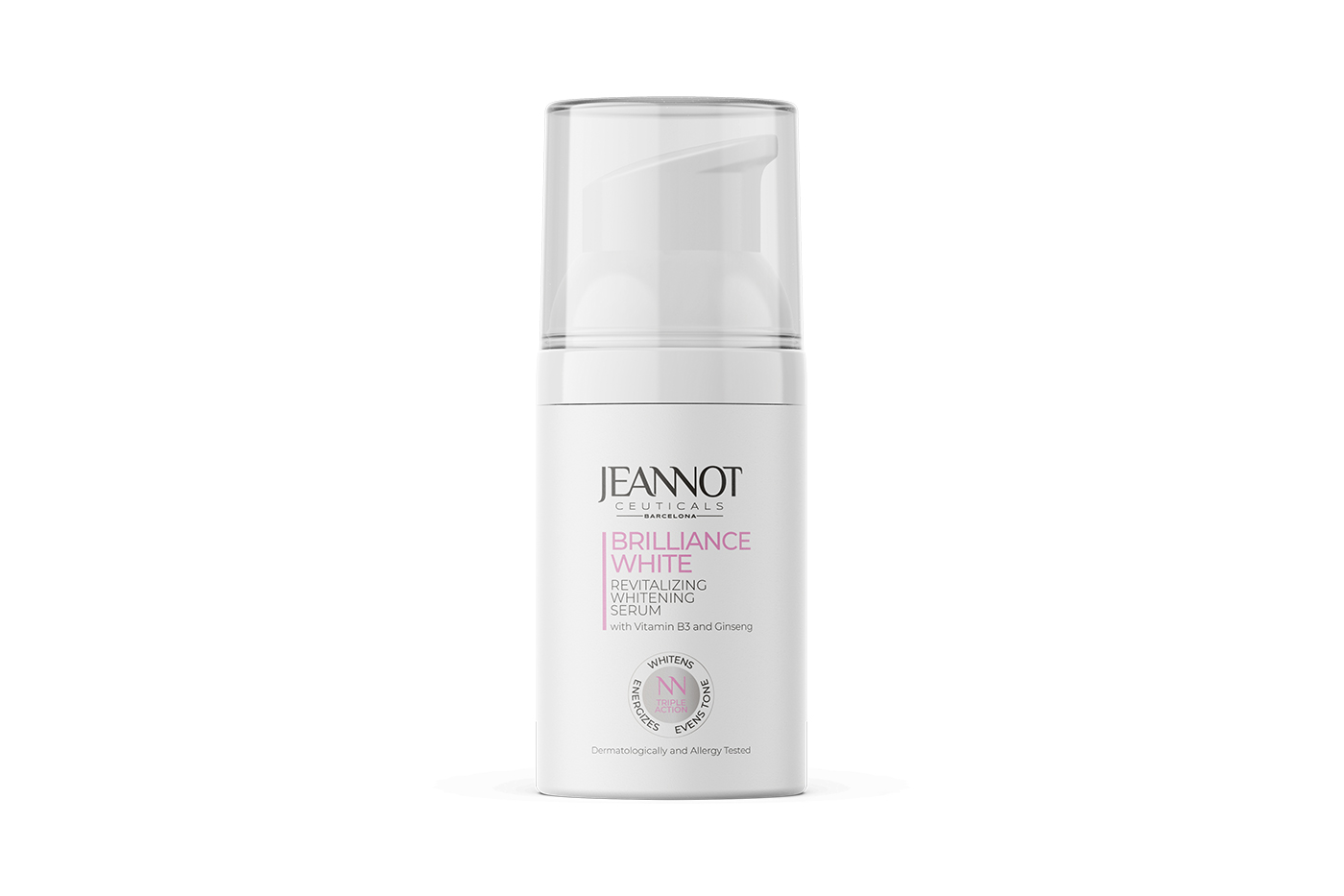 Jeannot Ceuticals serum for clean and clear skin