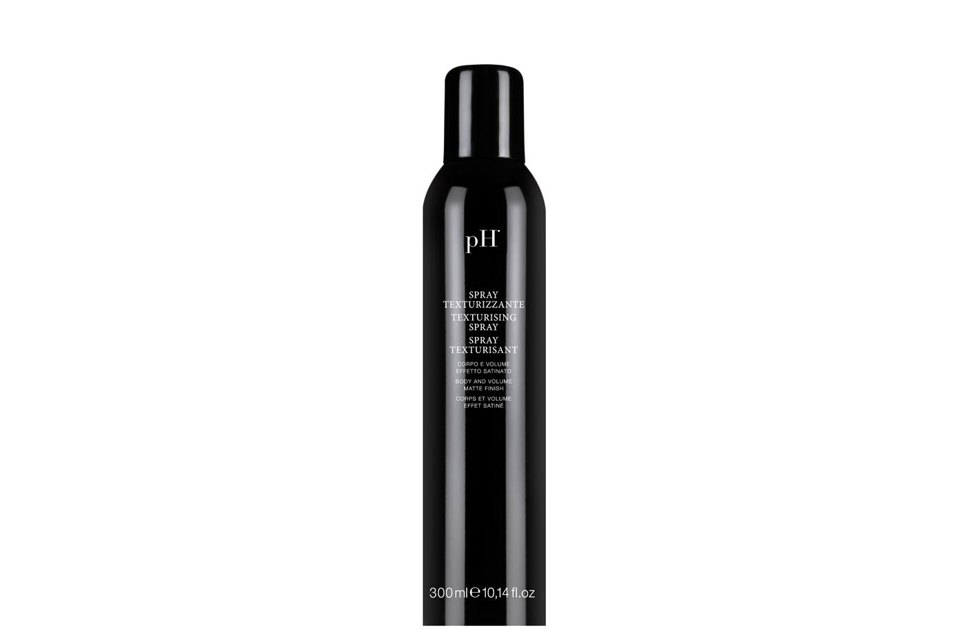 pH hair spray for voluminous tresses