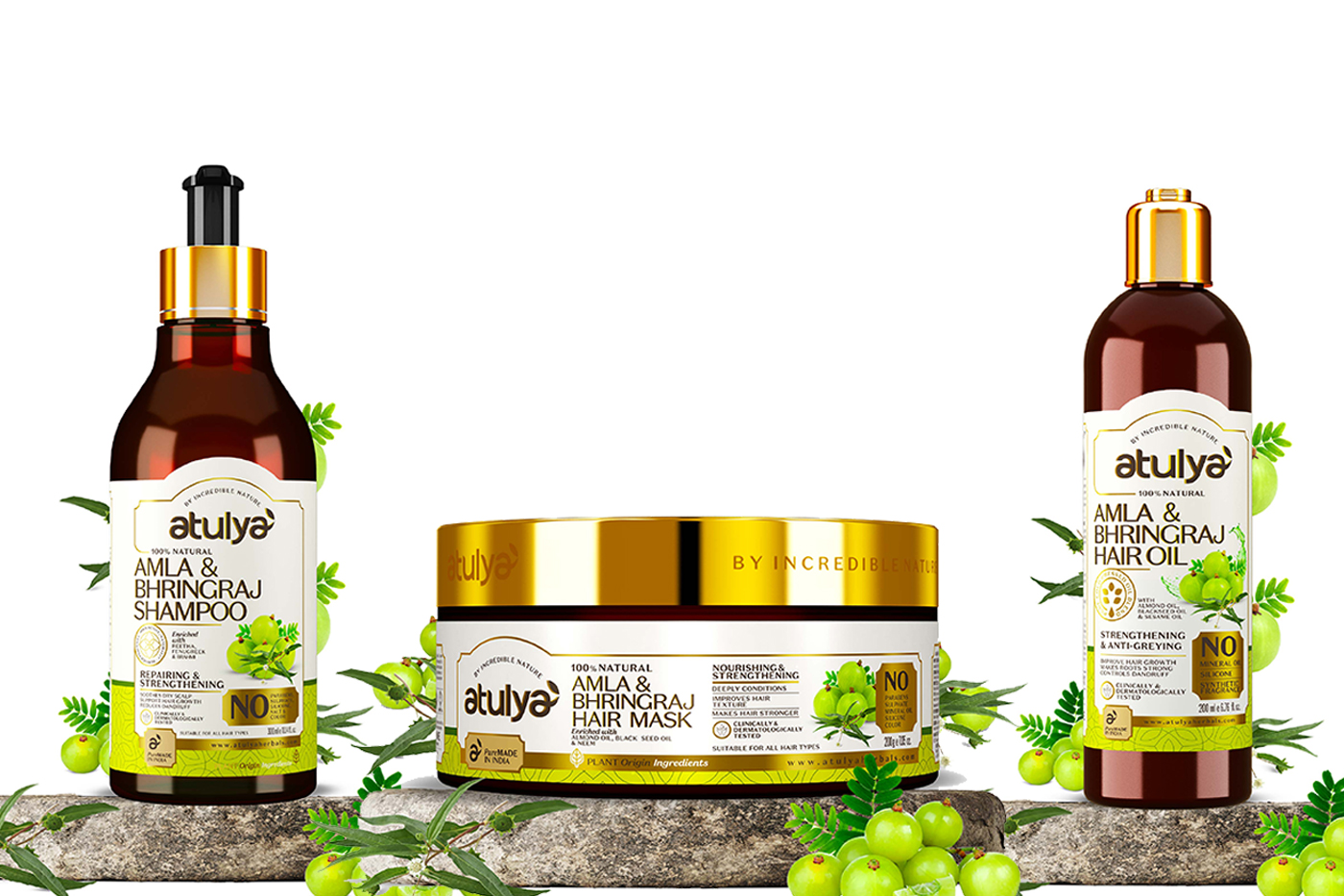 Atulya releases Amla Bhringraj haircare products