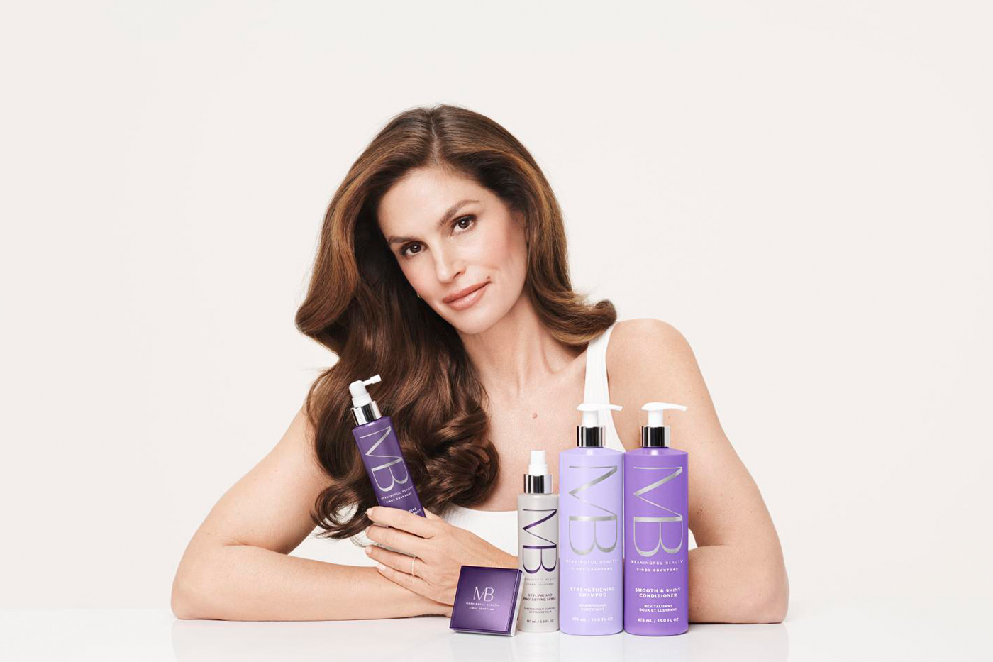 Cindy Crawford's Meaningful Beauty brand expands to hair care