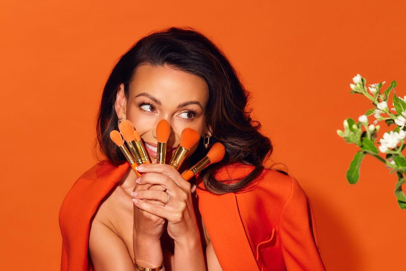 Michelle Kegan unveils make-up line with Spectrum