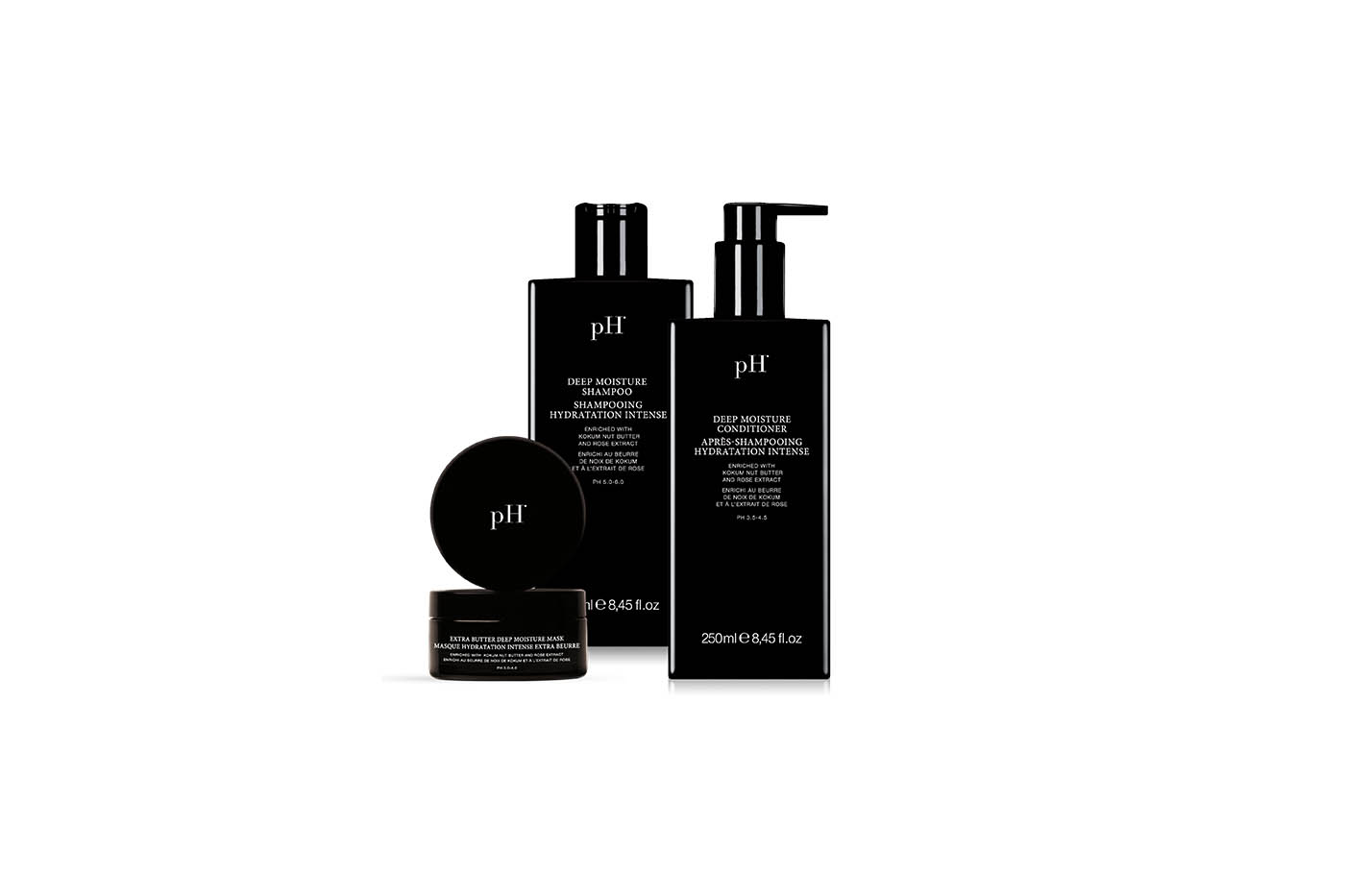 Hair nourishment and enrichment with pH Lab