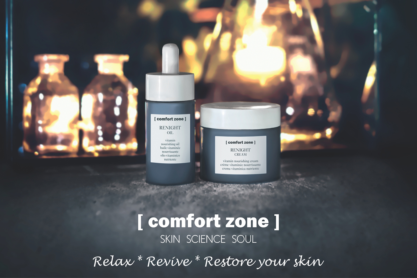 Comfort Zone's calming night cream