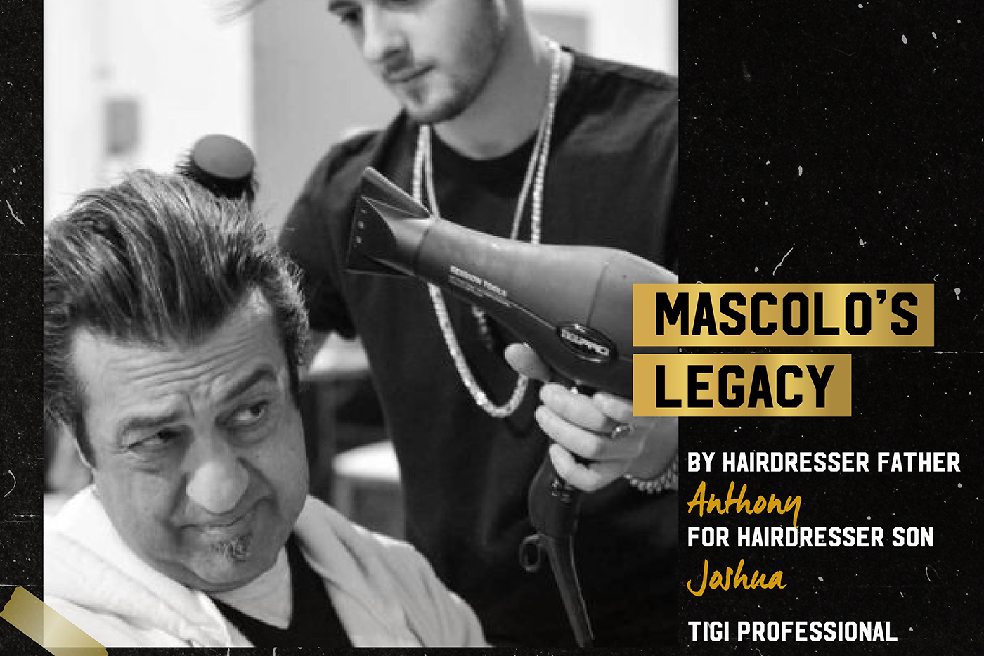 TIGI India makes Father's Day special for father-daughter/son hairdresser duos