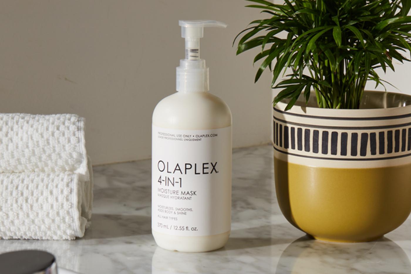 Olaplex launches moisture mask