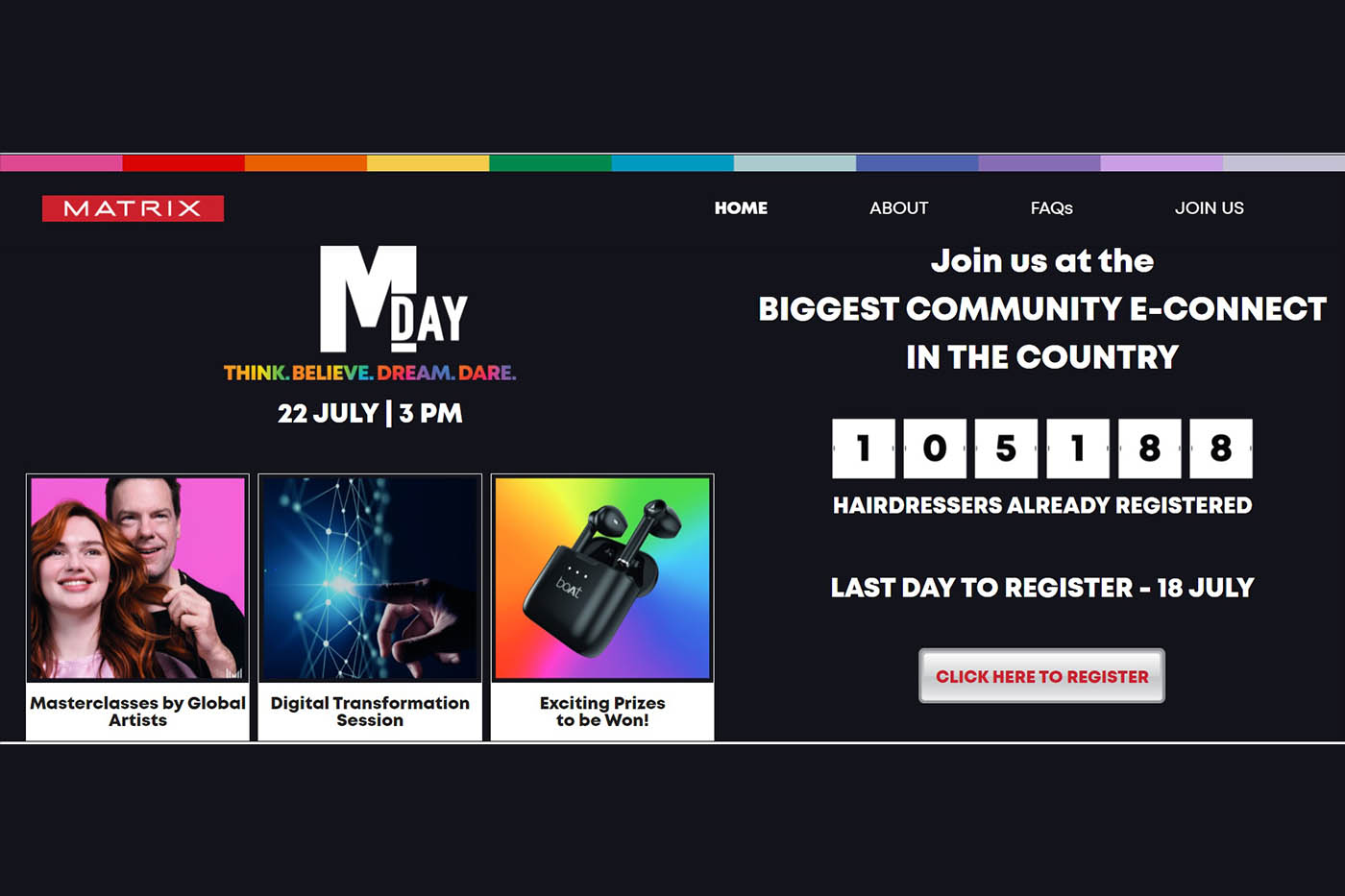 Join Matrix M-Day on July 22