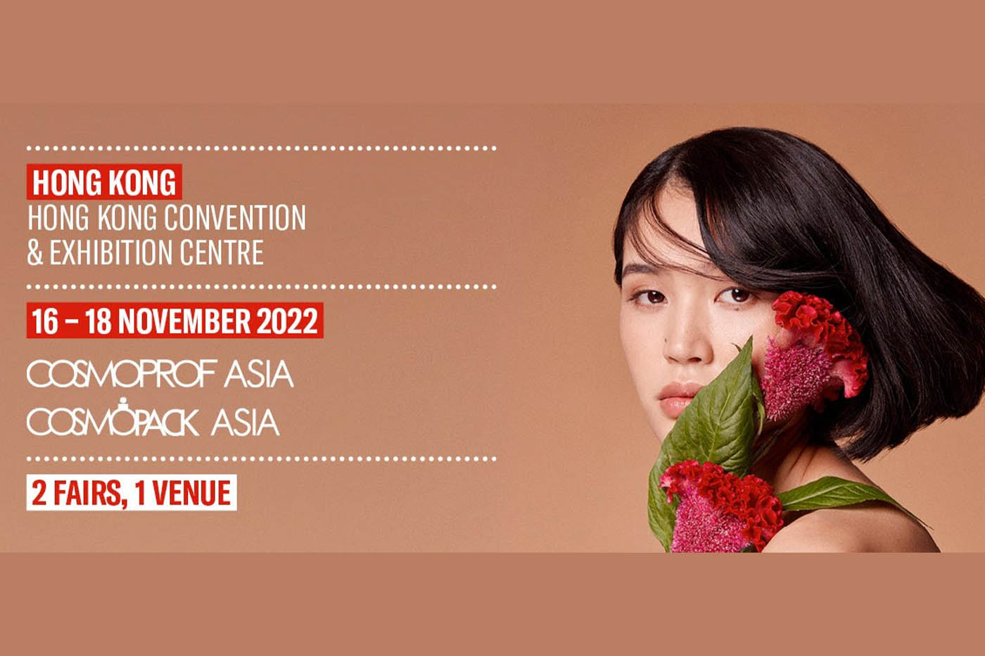 New dates for the 25th edition of Cosmoprof Asia released