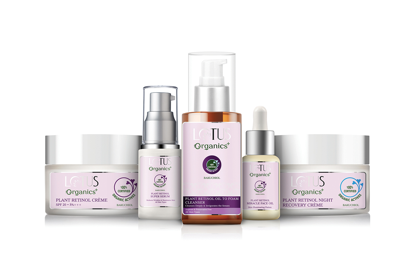Lotus Organics+ launches Bakuchiol skincare range