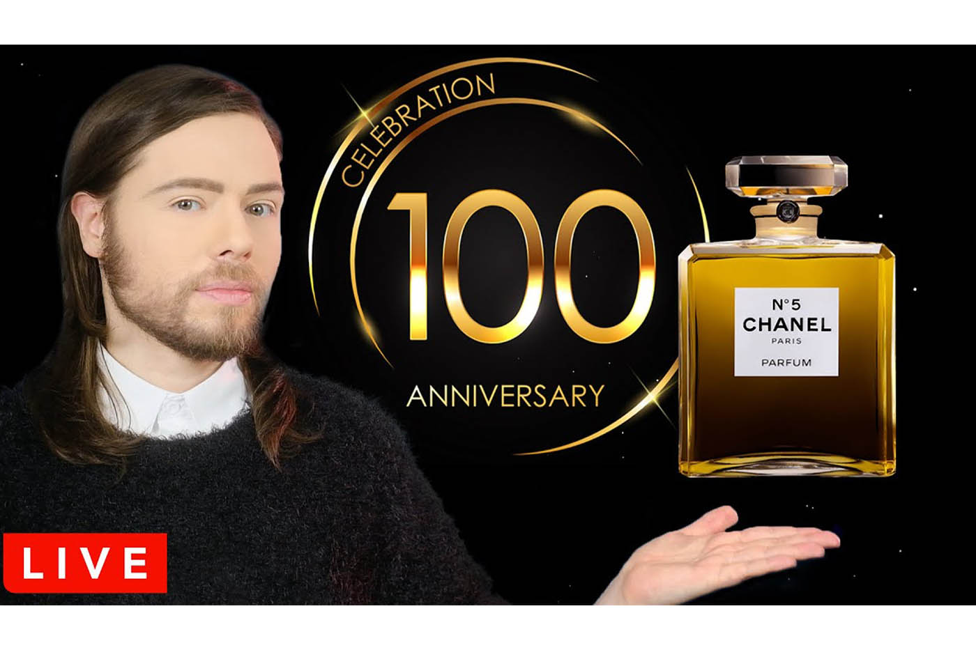 Iconic perfume Chanel No.5 celebrates its 100th birthday (1921-2021)