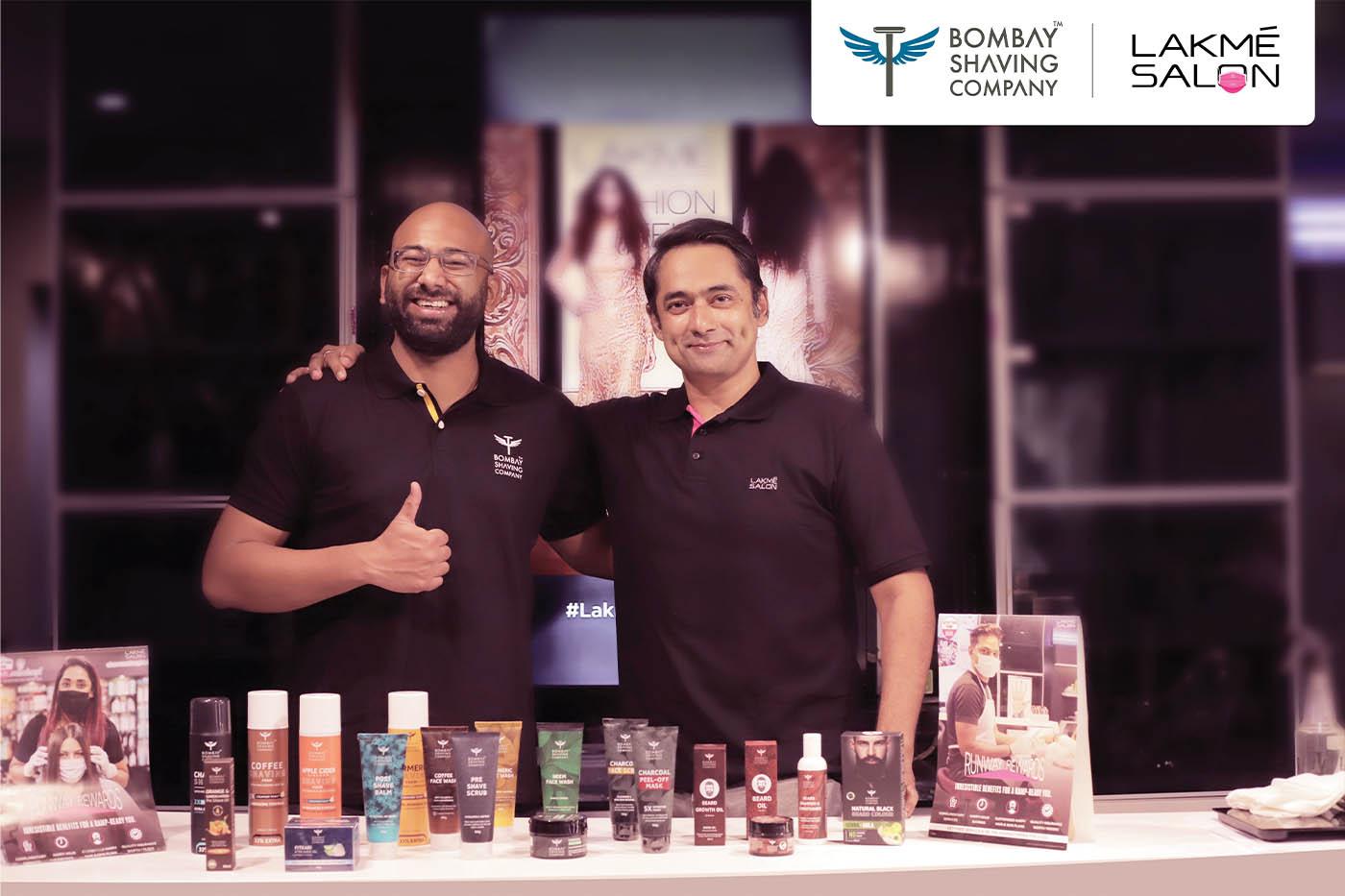 Lakmé Salon's exclusive partnership with Bombay Shaving Company opens doors for men
