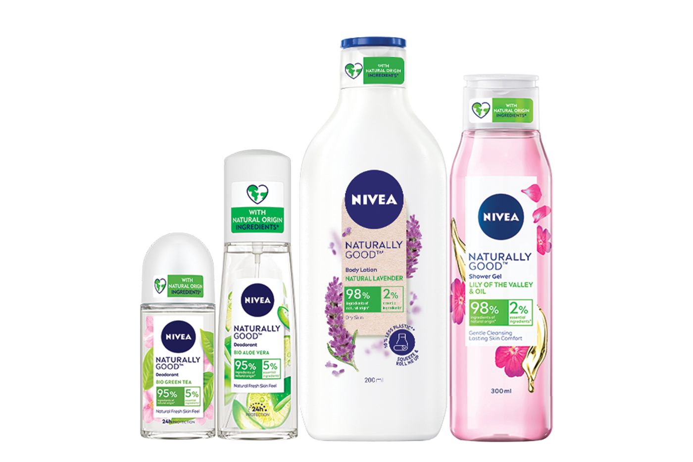 Nivea launches new sustainable skin range with minimal plastic packaging