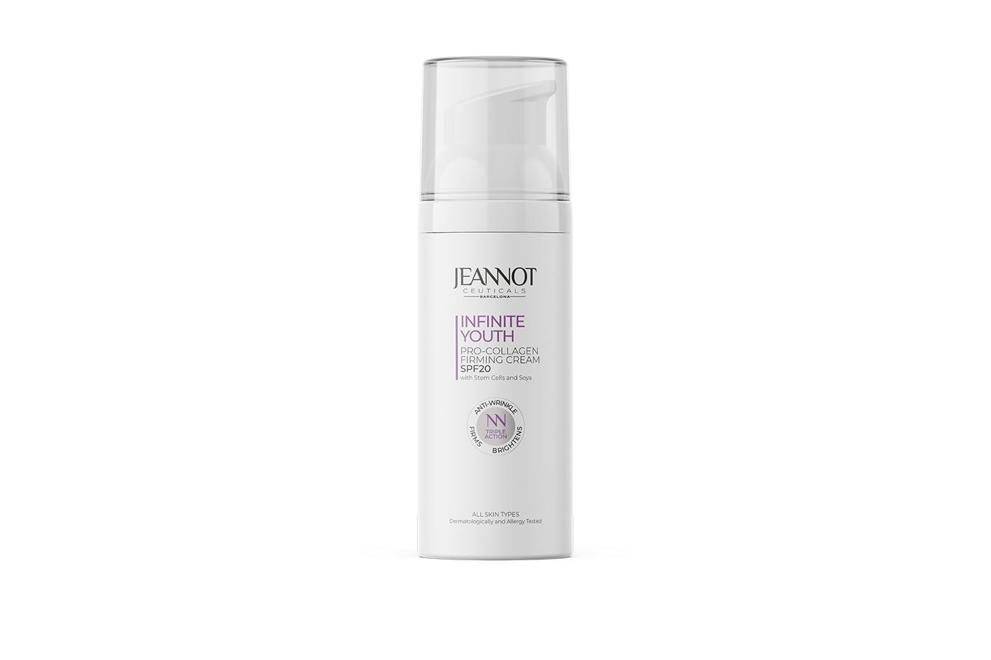 Jeannot Ceuticals cream to repair signs of aging
