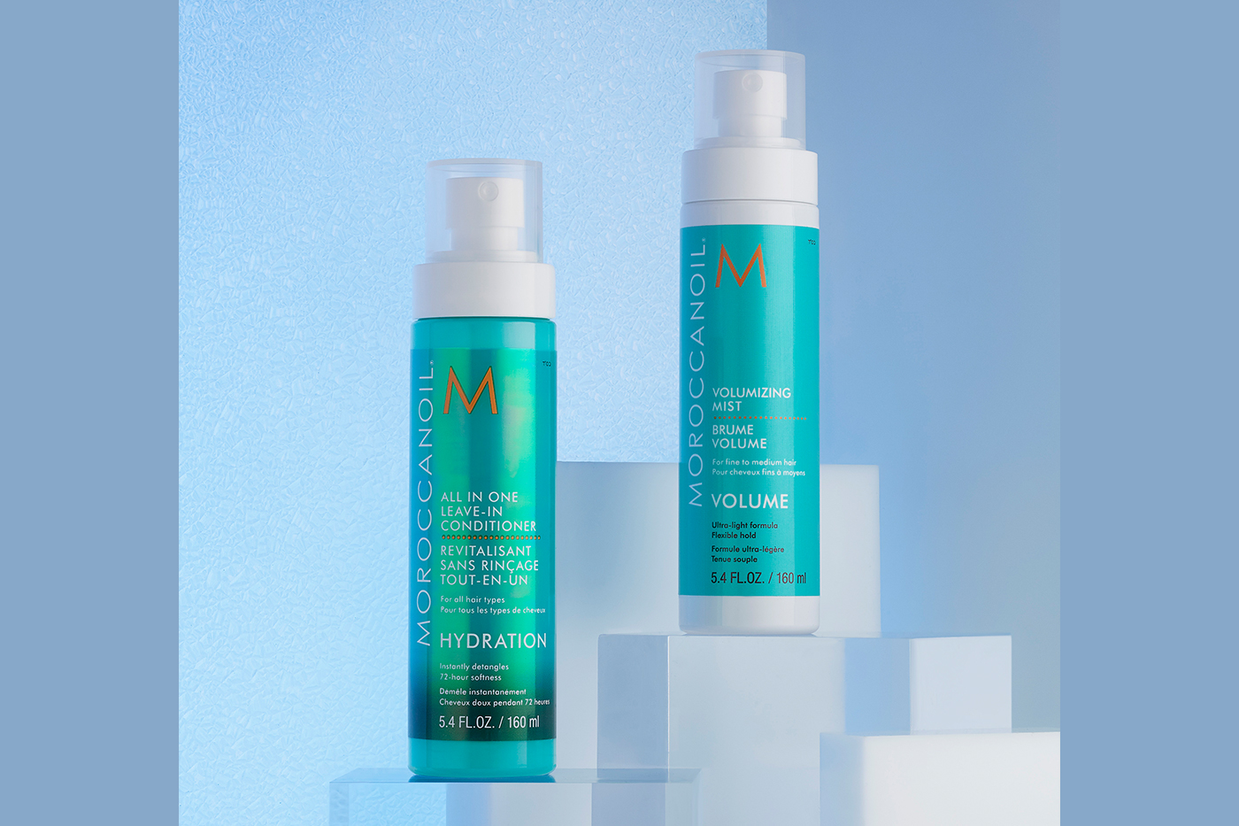 Moroccanoil leave-in conditioner and mist for soft and nourished hair
