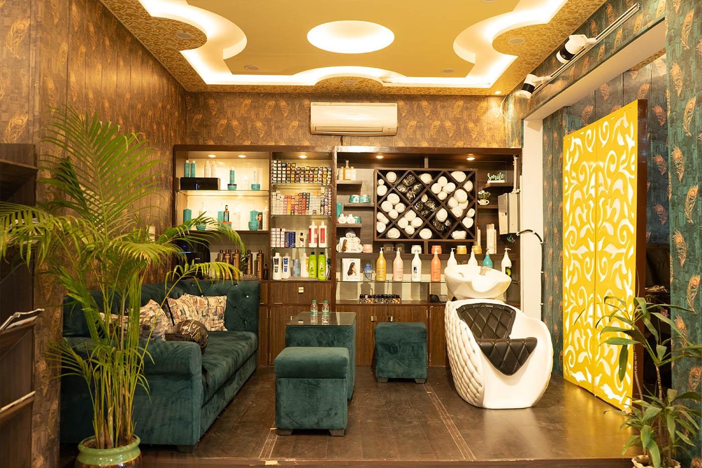 Ashrit Vatika Salon offers Tranquility and Quality