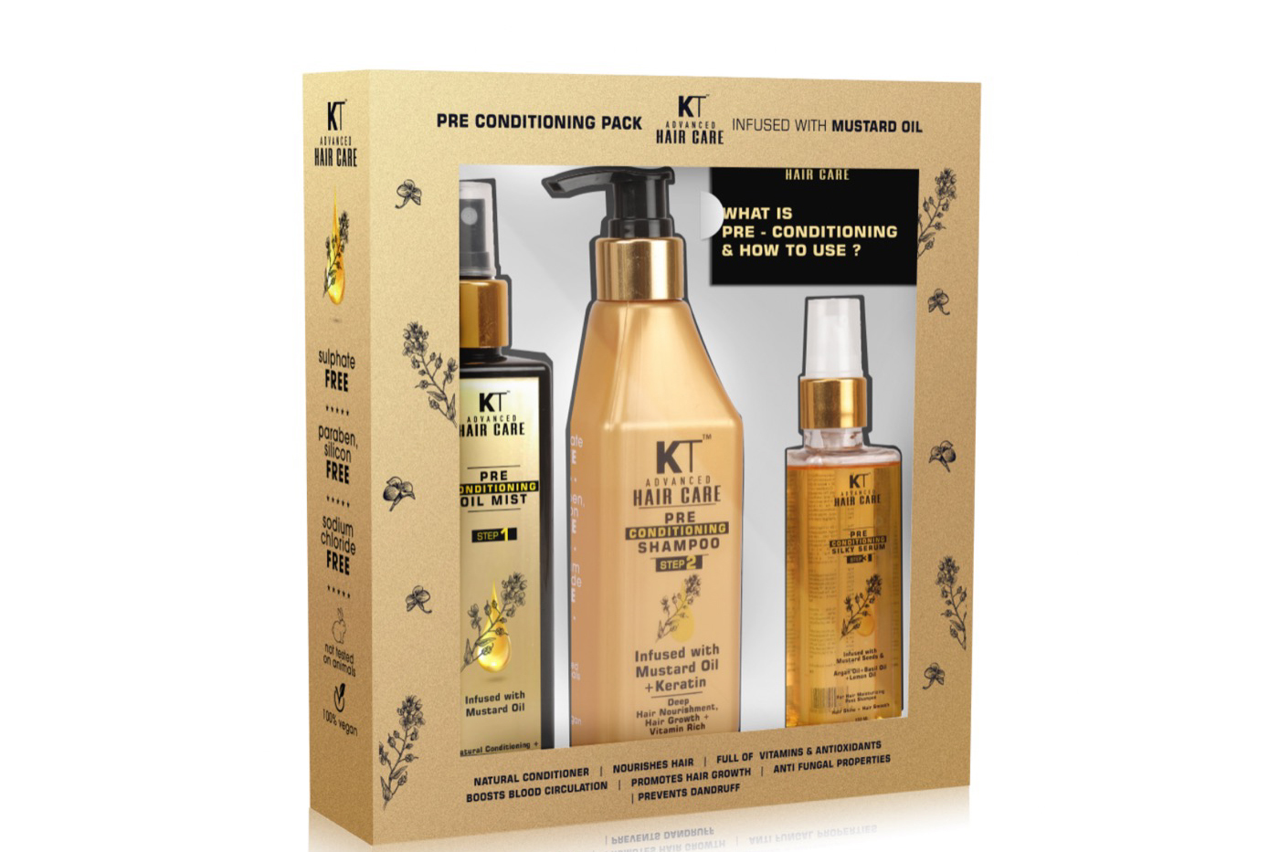 KT Professional brings Advanced Haircare Solutions