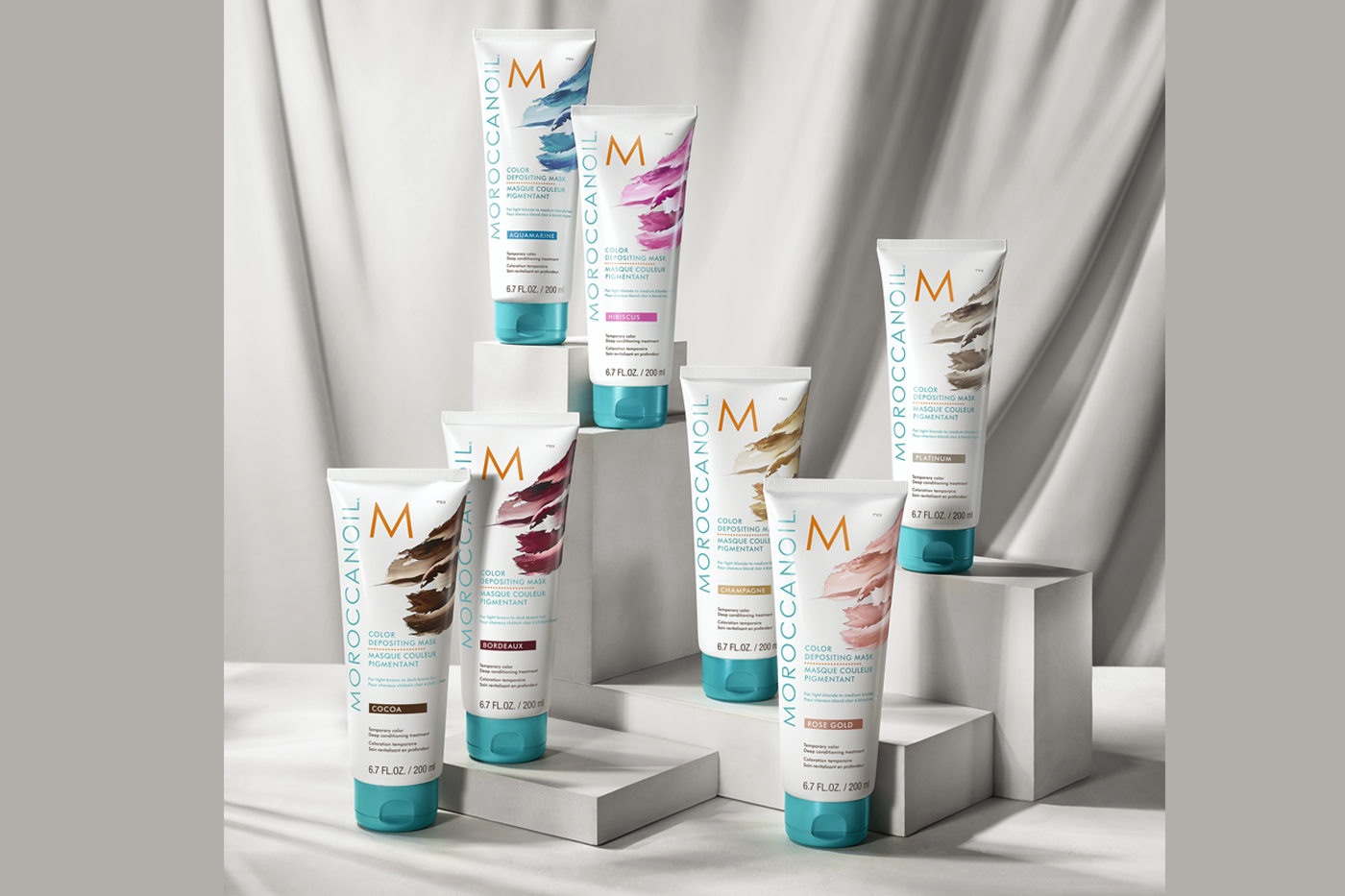 Color Depositing Mask Collection by Moroccanoil