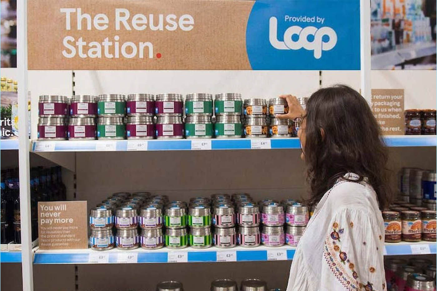 Tesco extends partnership with TerraCycle spin-off Loop for zero-waste shopping