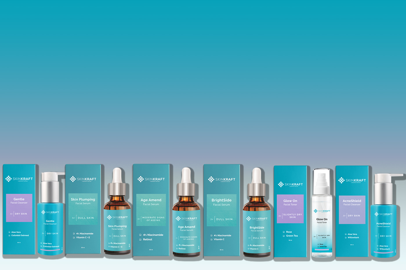 SkinKraft adds 20 products to the skincare product line
