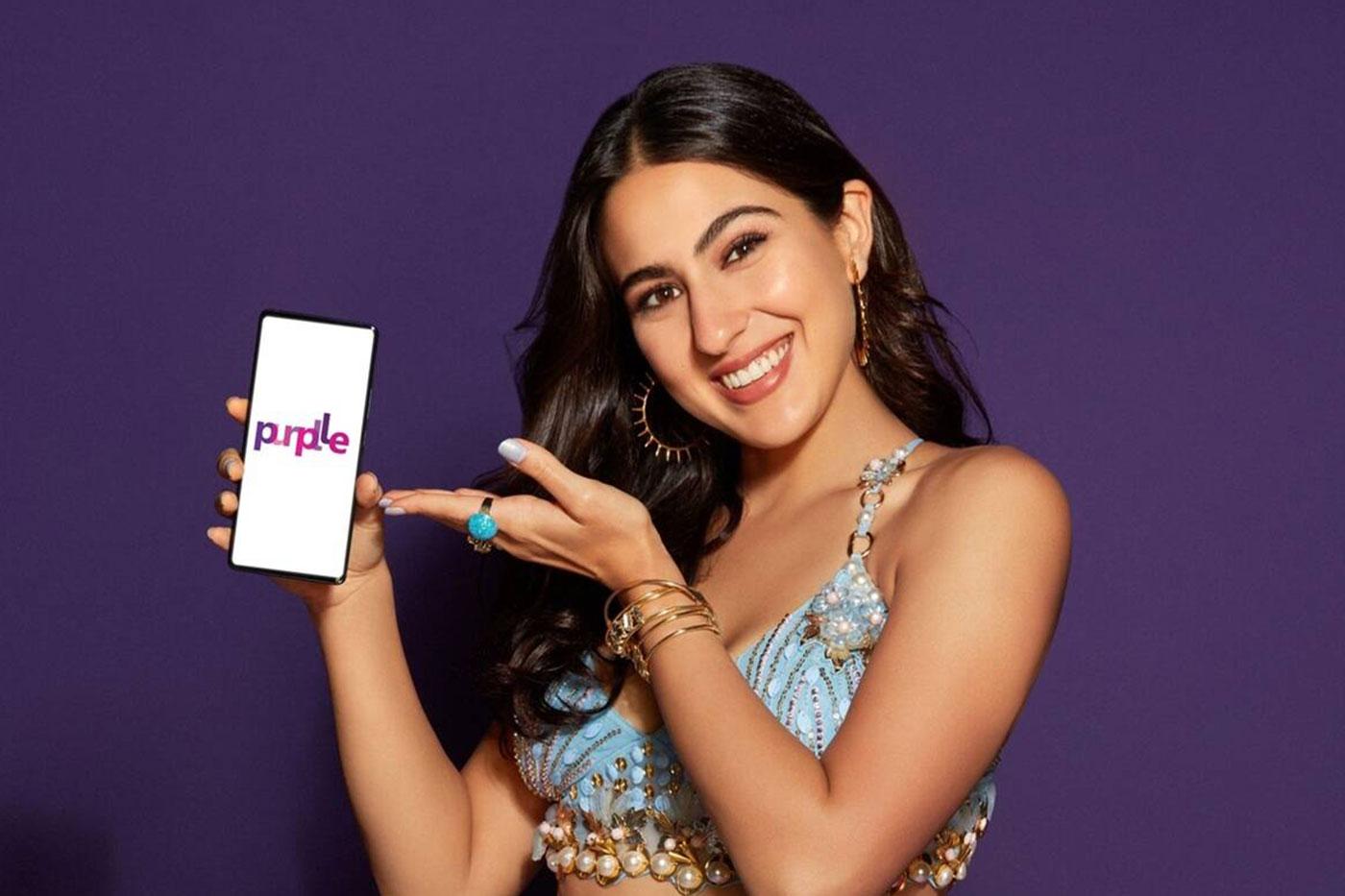 Purplle's Diwali campaign features Sara Ali Khan