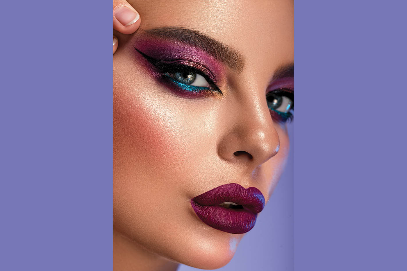 Trending Colours for Lips and Eyes