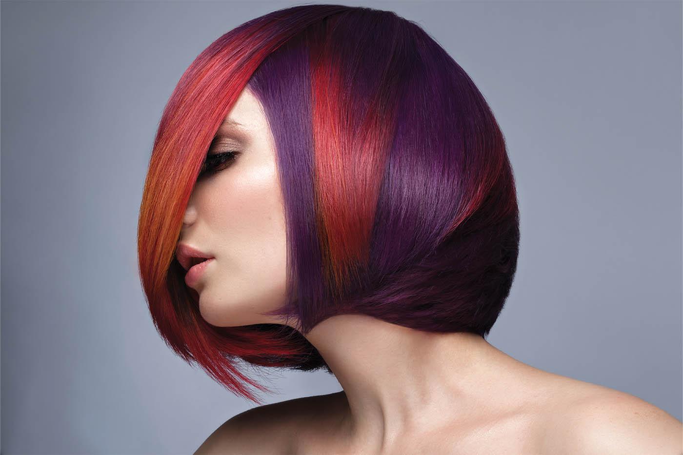 Trendy hair colour techniques for the festive season