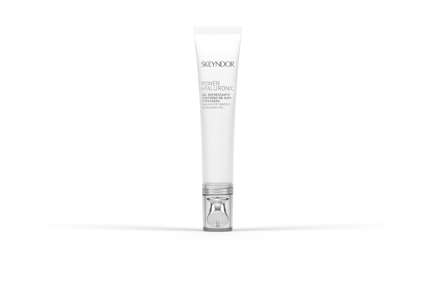 Skeyndor's eye contour and eyelashes gel for strengthening