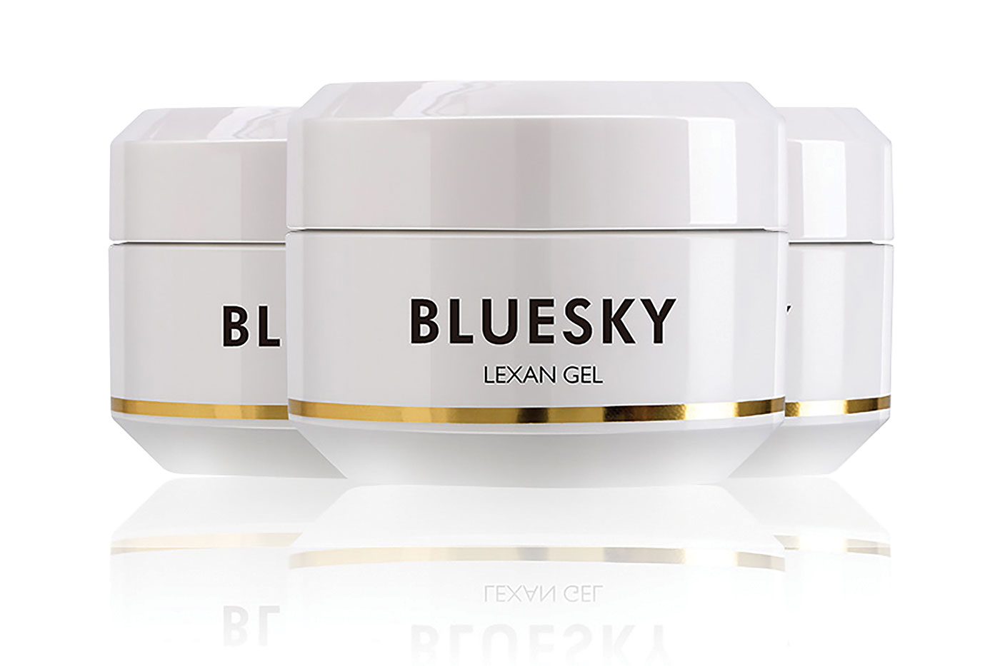 Bluesky Lexan Gel for effortless and swift nail services