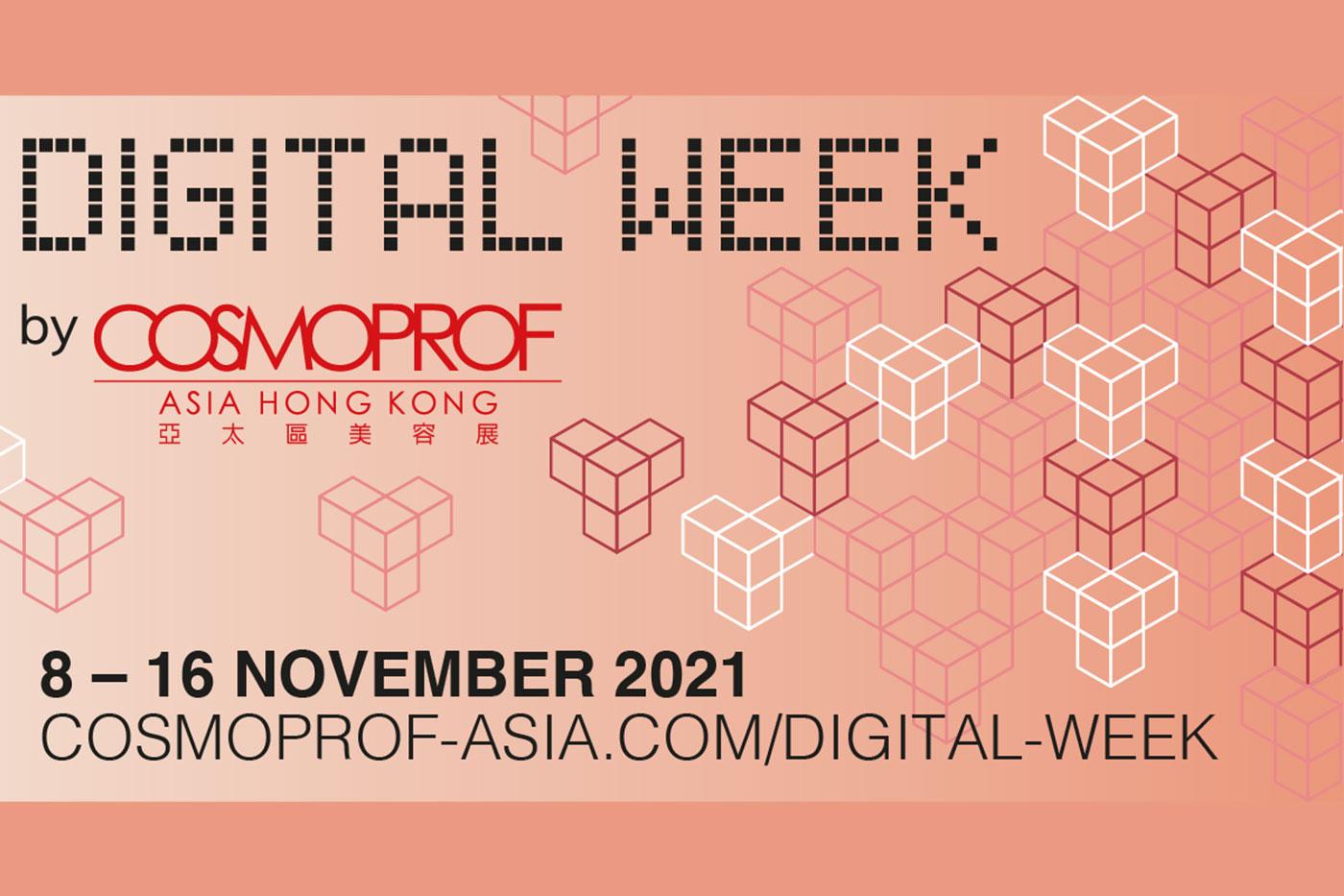 Cosmoprof Asia Digital Week starts in November