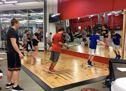 Plyometric floor training, Plyo training for athletes