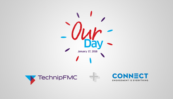 TechnipFMC Our Day logo