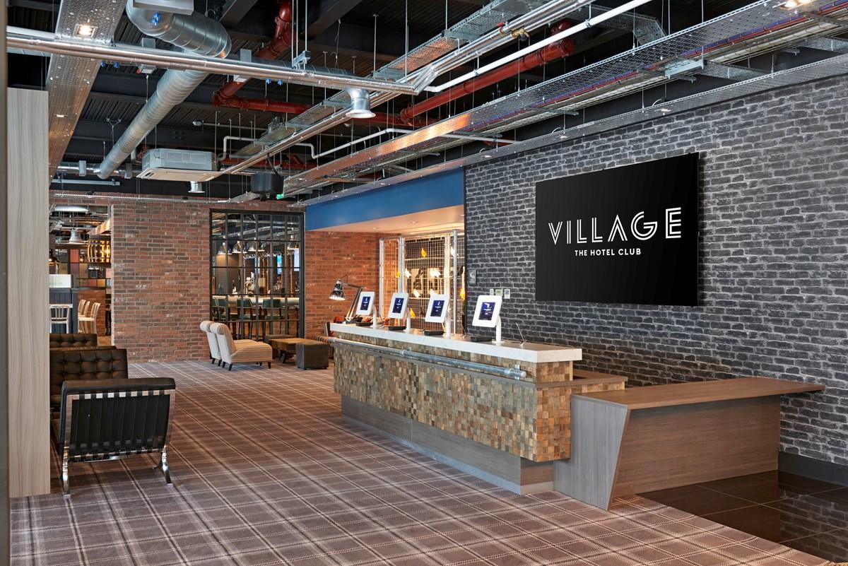 Reception at the Village hotel Glasgow