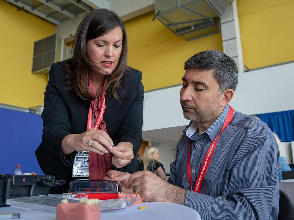 A hands-on implant workshop from 2018