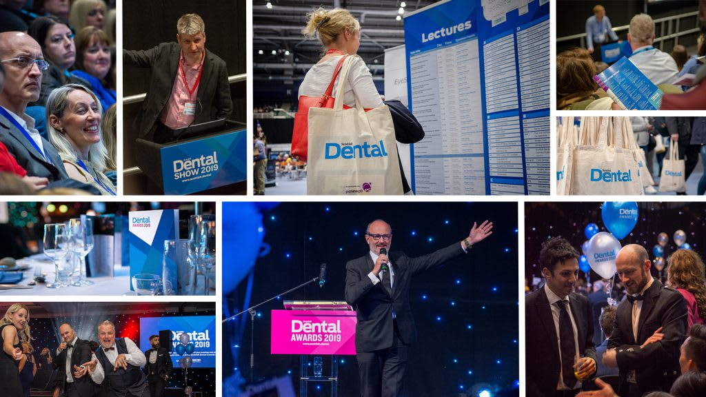 A selection of images from the Scottish Dental Show and Awards 2019