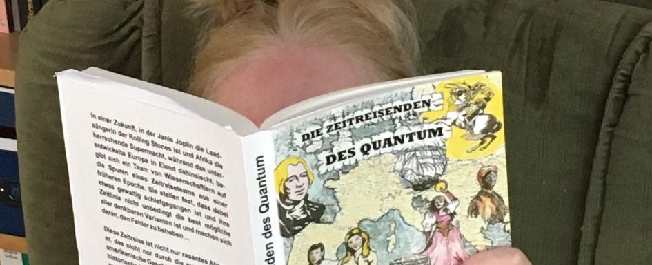 """""""Die Zeitreisenden des Quantum"""" von Ron Wall"""