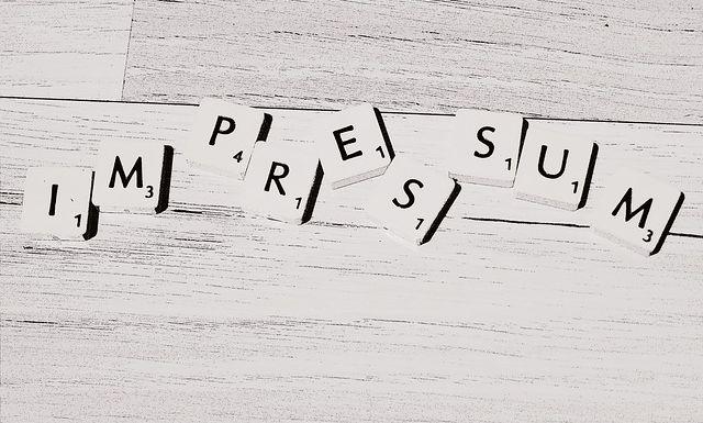 freies Scrabble Impressum