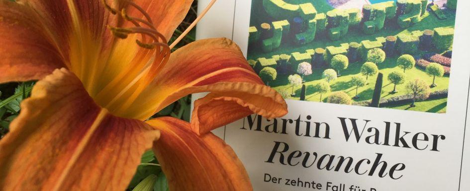 Bücherblog Krimi Rezensionen Krimi Msrtin Walker revanche mit Lilie