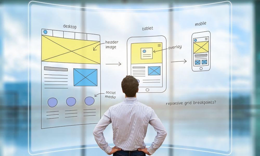 make Website design plan
