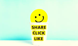 How to share content online