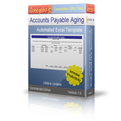 Accounts Payable Aging Worsheet