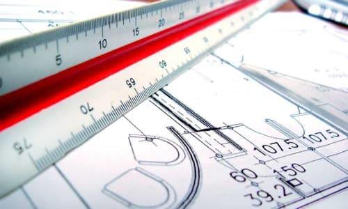 Desenho técnico construção civil