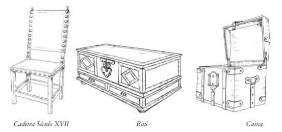 Mobiliário século XVII