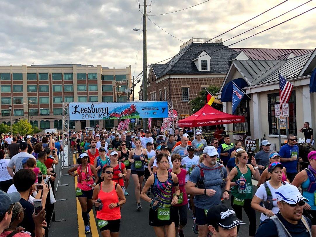 2018 Leesburg 5k/20k Race