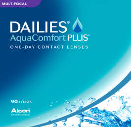 Dailies AquaComfort Plus Multifocal 90 pack