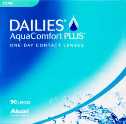 Dailies AquaComfort Plus Toric 90 pack