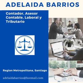 ADELAIDA MARÍA BARRIOS BARRIOS