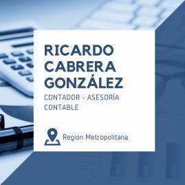 RICARDO ALEJANDRO CABRERA GONZALEZ