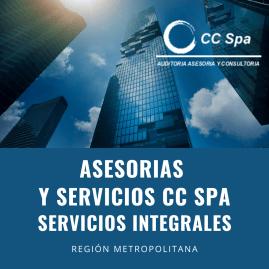 Asesorias y Servicios CC SPA, servicios Integrales