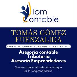 TOMCONTABLE SpA  (Serv de Constitucion, Emprendedor, PYME)