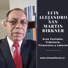 LUIS ALEJANDRO SAN MARTIN BIRKNER