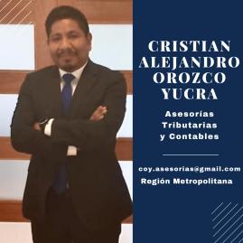 CRISTIAN ALEJANDRO OROZCO YUCRA